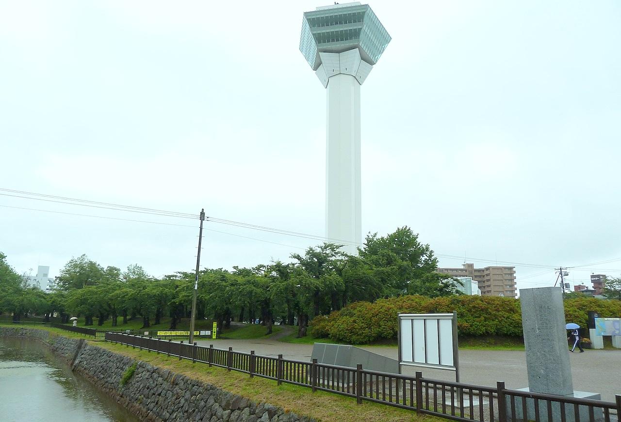 北海道の函館の観光旅行 五稜郭タワー