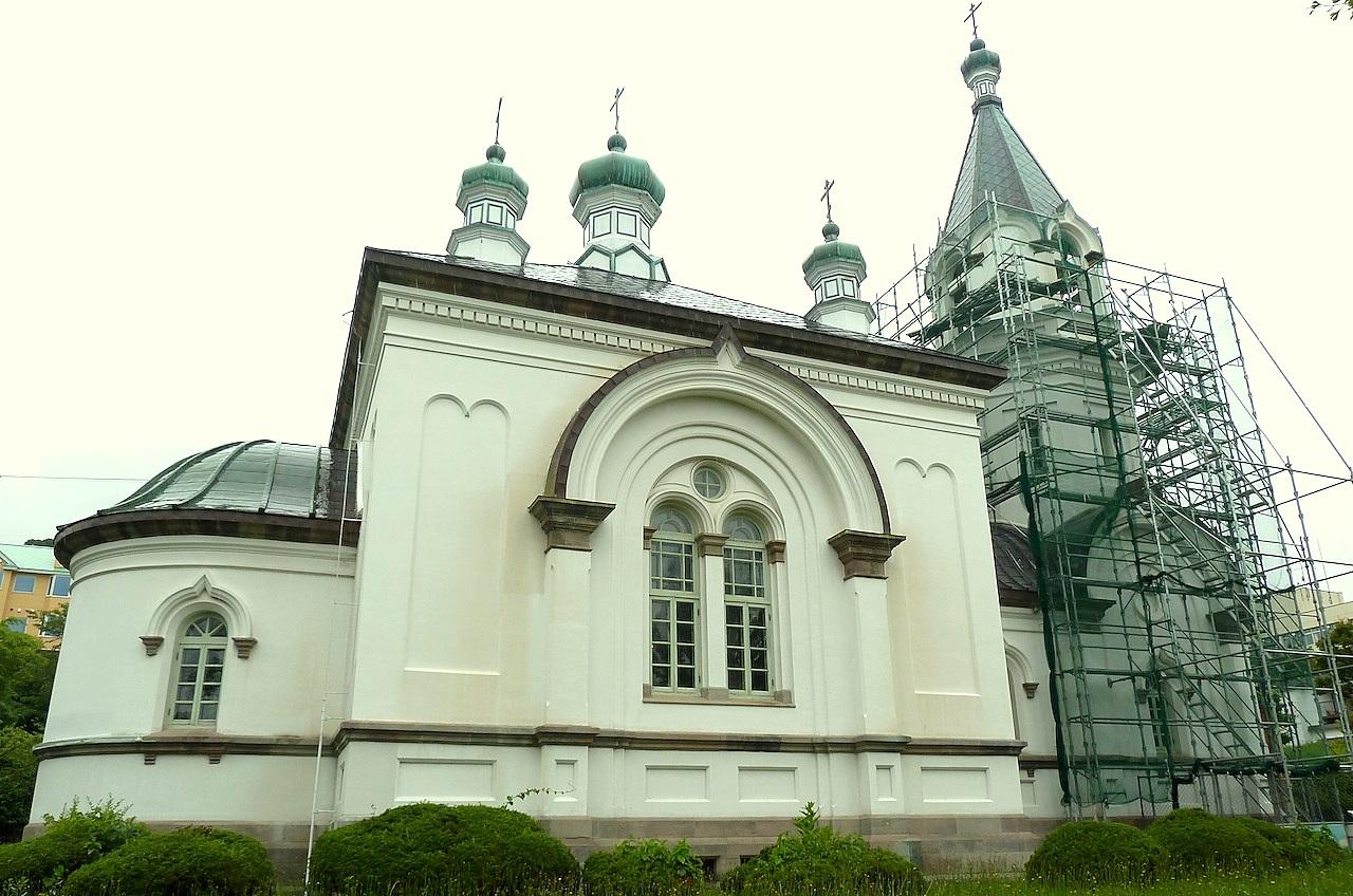 北海道の観光旅行 函館ハリストス正教会