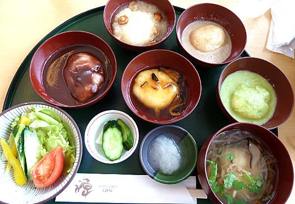【東北旅行】世界遺産・平泉のレストハウスでグルメ!もち御膳と蕎麦