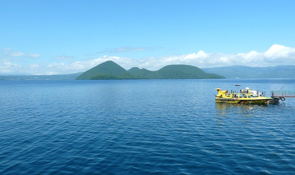 北海道旅行 洞爺湖の観光