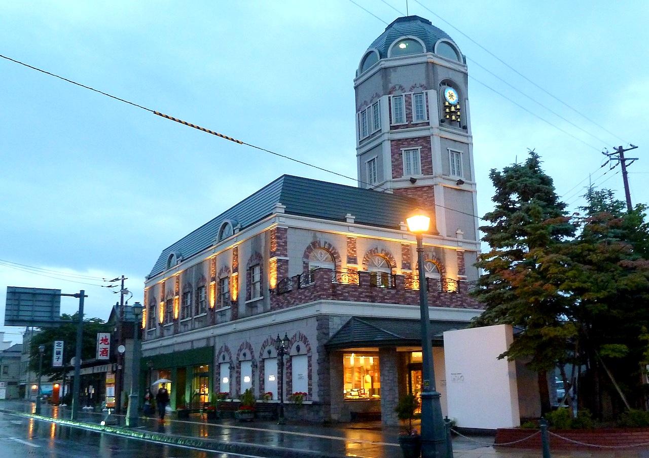 北海道の小樽の観光旅行 ルタオ本店