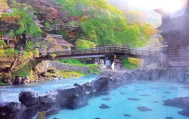 【東北旅行】混浴も初体験!花巻の大沢温泉・ホテル山水閣は7種類の風呂と食事も満足