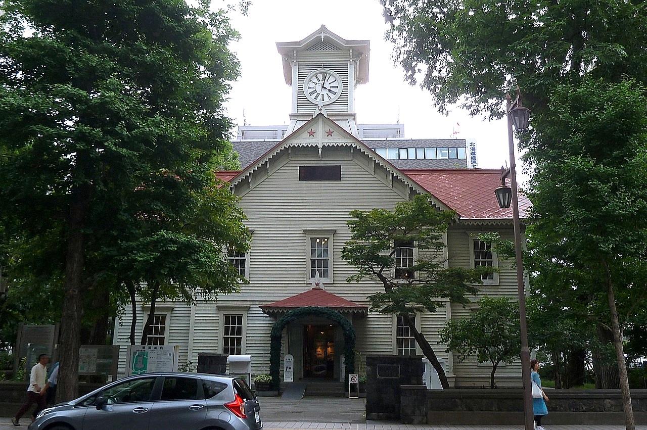 北海道の札幌の観光旅行 時計台