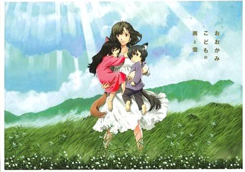動画あり『おおかみこどもの雨と雪』アニメ映画感想!親子愛と子育てと自立と